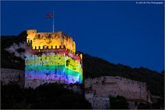 _H1A2705 (John M. Piris) Tags: castle orlando solidarity moorish gibraltar loveislove