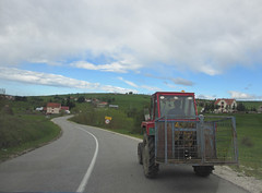 Tractor on the highway, Peter highland, Serbia (Paul McClure DC) Tags: scenery serbia balkans srbija zlatibor peter sjenica may2016
