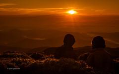 Mt Pulag Sunrise (pietkagab) Tags: trip morning travel light people sunrise trekking trek photography pentax hiking philippines central peak hike adventure mount pulag cordillera luzon pentaxk5ii pietkagab piotrgaborek