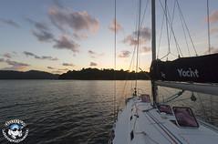 XOKA5648bs (www.linvoyage.com) Tags: ocean sunset sea fish water port marina thailand fishing bright yacht malaysia catamaran sail langkawi phuket hdr
