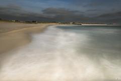 Helleststranda  - D8E_1655 (Viggo Johansen) Tags: sea sky norway clouds sand rocks waves windy rogaland hellest helleststranda hellestbeach