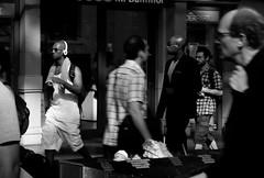 Frankfurt am Main - En passant (Picturepest) Tags: frankfurt frankfurtmain frankfurtammain frankfurtam frankfurtamain francfort deutschland deutsch german germany allemagne germania alemania hesse hassia hessen europe europa schwarzweis schwarzweiss sw blackwhite bw blackandwhite monochrome einfarbig twartwit noir people leute streetscene strasenszene strassenszene streetphotography mensch menschen person persons personen strassenfotografie stadt city urban town stdtisch moment moments candid strasse strase street snap unposed ungestellt christopherstreetday