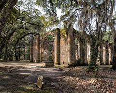 OLD SHELDON CHURCH RUINS (aging baby boomer) Tags: architecture ruins southcarolina churches