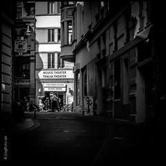 Theaterlandschaft (ZaglFoto) Tags: street deutschland streetphotography hallesaale streetphotographer sachsenanhalt