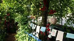 Jane's Enchanted Tea Garden (rjmiller1807) Tags: cute june gardens canal cafe foliage teapot archway oxfordshire creamtea 2016 kirtlington tackley janesenchantedteagarden
