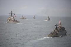 USS Ashland Participates in Maneuvering Exercises at CARAT Thailand (#PACOM) Tags: green thailand sailors marines usnavy meet th greet carat portvisit 2ndbattalion cooperationafloatreadinessandtraining ussashlandlsd48 2ndmarines us7thfleet forwardpresence thaiarmedforces shipformations