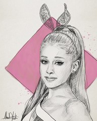 #happybirthdayarianagrande @ArianaGrande #arianagrande #ChoiceSongFemaleArtist #dangerouswoman #sketch #kadisart #Portrait #painting #art # #_ #_ # # # (ahmad kadi) Tags: portrait art painting sketch dangerouswoman     arianagrande instagram   happybirthdayarianagrande choicesongfemaleartist kadisart
