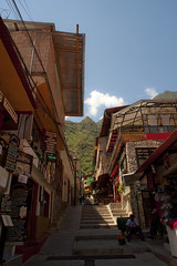 Streets of Aguas Caliente (Bahanick (Nxt Up: the trip to Machu)) Tags: park camera original light white black art alpaca nature colors up look machu inca cuzco composition contrast train work trek dark de for site reflex amazon rainforest raw foto with arte bright image lima good cusco poor picture shapes dirty per pichu trail national saturation su lama visual manu emotions per curiosity colori con luce madre disease outskirts dios forme archeological sensation riflesso composizione ande scuro sensazioni immagine emozioni chiaro tonality visivo