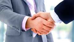handshake isolated on blue background (sinthiakter) Tags: friends people men businessman corporate suits hand close employment signature meeting business company trust friendly deal buy finished shake customer handshake sales job client trade success selling firm promise partnership purchase partner greet appointment wealth prosperity agree pact buyer businessmen agreement reliable succesful coorporation youwanttochoosethebestcontractoraccountants butwanttostayonthecheapsideasspecialistcontractoraccountantsweexplainedwhatyoushouldlookforincontractoraccountants