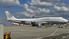 Boeing 747-8KB BBJ Qatar Amiri Flight A7-HBJ (rouerjb) Tags: airplane airport nikon boeing boeing747 cdg monstre lfpg