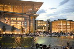 The Stavros Niarchos Foundation Cultural Center  -  DSC1009 (Chris Maroulakis) Tags: park chris lake water bay nikon opera library center artificial athens cultural attica 2016 niarchos faliron d7000 maroulakis