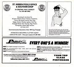 St Mirren vs Celtic - 1988 - Page 8 (The Sky Strikers) Tags: street love st magazine scottish match celtic premier league bq clydeside 60p mirren