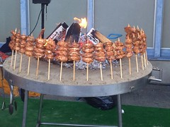 Chicken skewers (Creusaz) Tags: chicken skewers