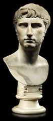 A rare bust of Gaius Caesar, grandson, adopted son and heir of Augustus Caesar, 1-4 AD (mike catalonian) Tags: 4ad augustus ancientrome 1stcenturyad gaiuscaesar gaiusvipsaniusagrippa julioclaudiadynasty