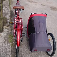 SamSam doggy sidecar (The bike guy !) Tags: carried larton england kinlan wirral cycles sequin bike carrying dog bicycle sidecar doggie holland berkel aad samsam