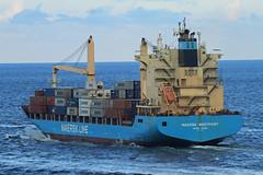 Maersk Wesport leaving Port Everglades (taddzilla) Tags: maersk westport maerskwestport cargoship vessel cargocontainers ship boat ocean porteverglades departure frieighter waves ftlauderdale florida 2016 allrightsreserved