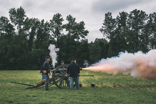 Gaines Mill Battlefield Artillery Re-inactment