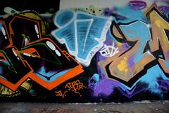 graffiti amsterdam (wojofoto) Tags: holland amsterdam graffiti nederland netherland iv flevopark amsterdamsebrug wolfgangjosten wojofoto