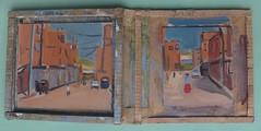 A double carrier, used in Peru (tadeusz dergowski) Tags: peru painting pintura arte travel oilpainting journey cusco arequipa puno impressionism impressionist art pochade pochades peruvian