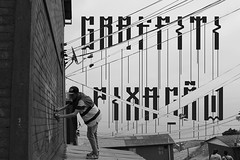 Rooftop- Fonte inspirada no pixo de extensor de Braslia (Pegue este charuto e me d esse estilingue!) Tags: graffiti typography font typeface design typedesign pixao pixo braslia bsb brasilgraffiti vandal vandalism urban rolinho rooftop rooftoptypeface mindu