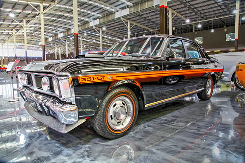 1971 Black Onyx, Ford Falcon GTHO Phase iii, Gosford Classic Car Museum, 3 Stockyard Place, West Gosford