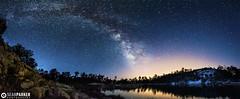 Rose Canyon Milky Way Panoramic (Sean Parker Photography) Tags: arizona sky panorama lake night way stars star tucson pano az panoramic astro nasa galaxy astrophotography astronomy milky apod mtlemmon starrynight rosecanyon milkyway starscapes arizonahighways lightpollutioin