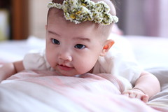 15W5D (Little Bunny 2013) Tags: cute girl beautiful beauty children child taiwan pinky bb  bayi      infantem