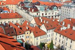 Aerial view of Prague (L. Felipe Castro) Tags: republica city europa europe european republic photographer czech prague capital praga fotografo tcheca luizfelipecastro luizfelipedasilvadecastro europeia