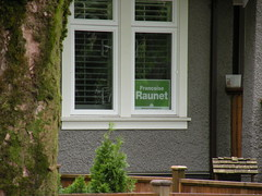 Francoise Raunet - BC Green Party 2013 election sign (Vancouver-Point Grey) (BlueAndWhiteArmy) Tags: vancouver kitsilano