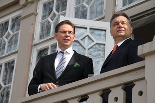 Prime Ministers Katainen and Orban