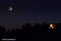 The Moon and Jupiter (ACREMAR) Tags: moon night lune mond satellite luna ciel cielo ay nuit notte stelle mnen pianeti tungli sistemasolare rembulan astronomisches jupitergiove pianetisky