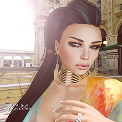 Good Deals, great look (Dark Angellina) Tags: fashion mesh sl soul whatever hush puncture slink loq secondlive ryca purpleposes
