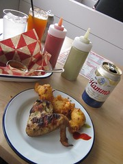 opening day at Parson's Chicken & Fish, Armitage & Humboldt (katherine of chicago) Tags: chicago beer restaurants logansquare parsons