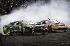 gittin forsberg (slightlyNSFW) Tags: chris streets ford beach monster energy long nissan drink smoke jr domestic formula mustang vaughn 350z nos jdm sideways drifting drift forsberg gittin