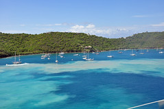 Docking St Thomas Bay (Eric Holmes) Tags: ocean cruise sea islands caribbean