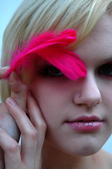 18a (RebeccaLynnPhotography8) Tags: pink portrait female photoshop makeup cannon expressive editing piercings artistry