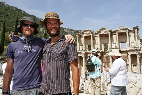 Us at Ephesus. 21/05/13.