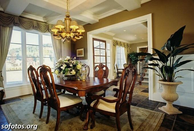 Salas de jantar decoradas (163)