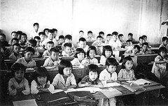 Village School (Gene Whitmer) Tags: school kids rural vietnam 1972