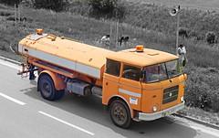 Liaz Truck (adambezdek) Tags: orange truck nostalgia mts skoda 706 liaz