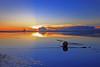 shadow and light (Thunderbolt_TW) Tags: sunset sea sky sun reflection water windmill canon landscape taiwan 夕陽 台灣 日落 風景 windturbine 彰化 changhua 風車 彰濱 西濱 肉粽角 彰濱工業區 風景攝影 hsienhsi 線西 5d2 changpingindustryarea