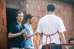 Rostilj [ Rodjendan ] @Tresnja (ntrifunovic) Tags: party portrait people man male beer smoke barbecue ug maile milos rodjendan avala ceka vikendica rostilj tresnja makso ugljesa mrdjan