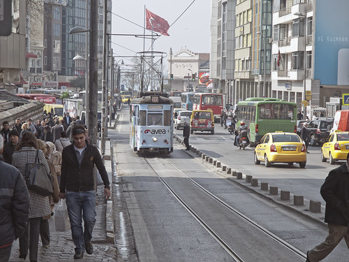De colores en Kadikoy. Istambul. Marzo 2011