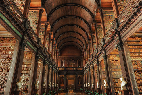 Trinity College Library by Juergen Jauth, on Flickr