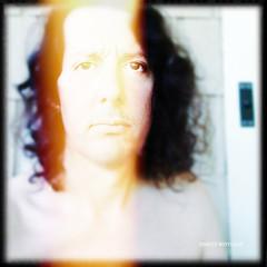 Self-portrait with light leak (JOAQUIN MONTALVAN) Tags: selfportrait art photography lightleak iphoneography iphone4s joaquinmontalvan