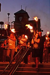 Lighting procession (Photo by John A. Simonetti)
