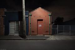 Untitled (Ranga 1) Tags: longexposure nightphotography urban night canon lowlight nocturnal empty fitzroy australian australia melbourne victoria suburbs substation urbanlandscape nightexposure davidyoung youngstreet lowlightphotography ef1740mmf4lusm innersuburbs innermelbourne canoneos5dmarkii