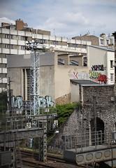 Comment vivre la ville ? (Lemecnormal) Tags: paris graffiti graff pal 1up gorey vlok 156 nunca cbk horfe horphe horphee horfee