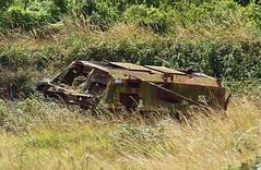Alvis Saracen wreck, Tyneham Tanks (Hammerhead27) Tags: uk trees grass army hit tank shot military rusty dorset target vehicle fighting wreck britisharmy range armour destroyed alvis saracen tynehamtanks