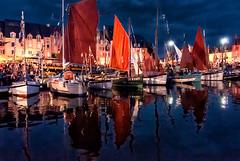 Paimpol - Festival du chant de marin (@lain G) Tags: france festival port bretagne reflet nuit voilier paimpol fêtes côtesdarmor chantsdemarin